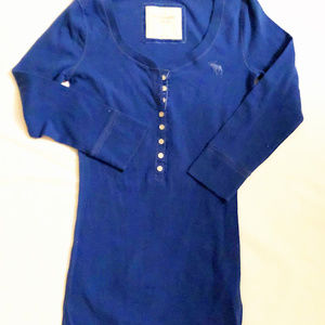 Abercrombie & Fitch womens new size M shirt cotton